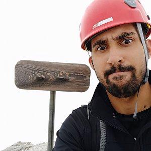 Fíkus na vrcholu Cresta Bianca (22.8.2019 11:56)
