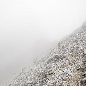 Fíkus na vrcholu Cima Padeon (22.8.2019 14:00)