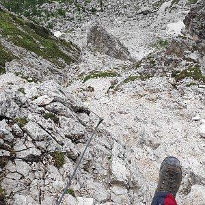 Fíkus na vrcholu Col di Varda (23.8.2019 10:50)