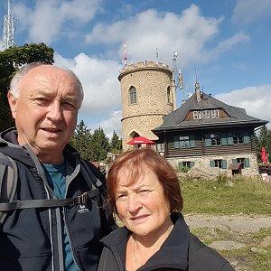 Arni na vrcholu Kleť (19.9.2019 12:20)