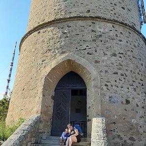 Pavel Vosecky na vrcholu Kleť (20.7.2020 17:10)