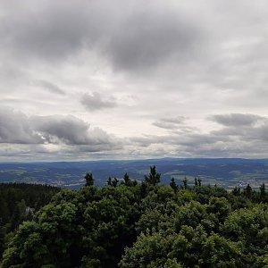 hajfan na vrcholu Kleť (4.8.2021 12:40)