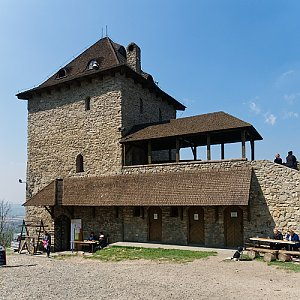 """Zdeněk """"DrakMrak"""" na vrcholu Starojický kopec (22.4.2019 11:50)"""