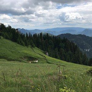 Terez Valčíková na vrcholu Tlstá (7.7.2020 14:00)