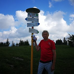 Pepino na vrcholu Tlstá (4.7.2020 10:49)