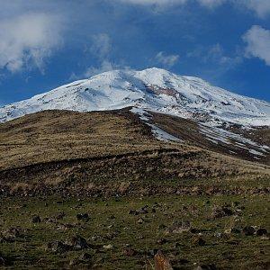 Jan Matiášek na vrcholu Ararat (6.5.2021 10:49)