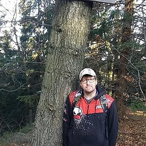 """Stray Dog"" na vrcholu Burkův vrch / Burkov vrch (24.11.2019 11:15)"