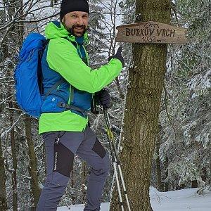 Radoss na vrcholu Burkův vrch / Burkov vrch (15.2.2020 12:07)