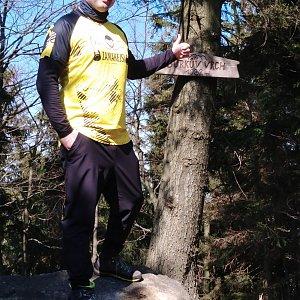 Ombre_Zamakejsi.cz na vrcholu Burkův vrch / Burkov vrch (28.3.2020 13:10)