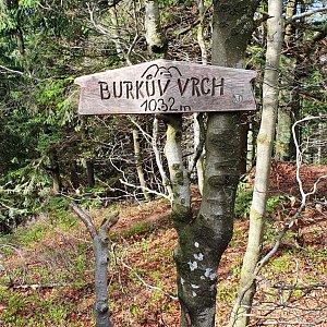IG na vrcholu Burkův vrch / Burkov vrch (22.5.2021 16:26)