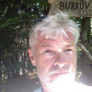 Jaroslav Macura na vrcholu Burkův vrch / Burkov vrch (6.7.2021 12:12)