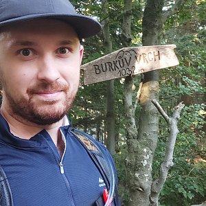 sewa na vrcholu Burkův vrch / Burkov vrch (4.9.2021 16:32)