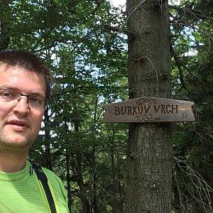 Radim Škrabánek na vrcholu Burkův vrch / Burkov vrch (6.7.2019 12:54)