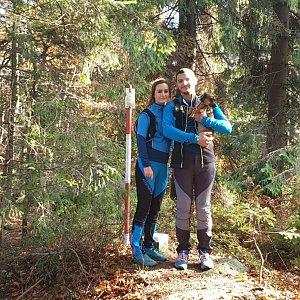 Tomáš Gánoci na vrcholu Burkův vrch (20.10.2019 13:06)