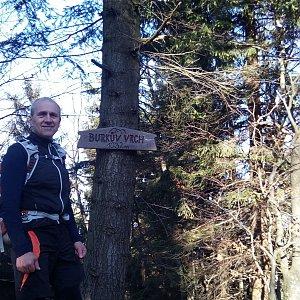 Čestmír Kubíček na vrcholu Burkův vrch (24.11.2019 13:02)
