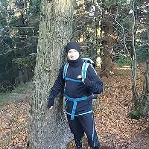 David Bunny Beil na vrcholu Burkův vrch (24.11.2019 11:00)