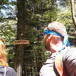 Martin a Jana Halamíčkovi na vrcholu Burkův vrch (13.5.2018 12:44)