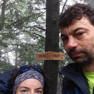 Babunka159 na vrcholu Burkův vrch (14.6.2018 10:45)