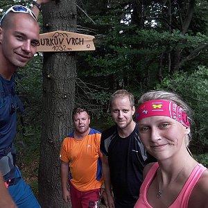 Jan Juchelka na vrcholu Burkův vrch (16.6.2018 11:21)