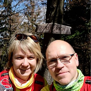 BUKY a IRČA na vrcholu Burkův vrch (17.5.2020 11:37)