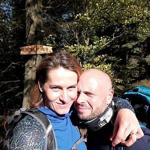 Petule na vrcholu Burkův vrch (6.10.2018 13:24)