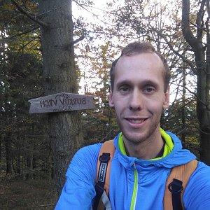 Radek na vrcholu Burkův vrch (25.10.2020 14:58)