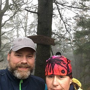 Moty na vrcholu Burkův vrch (1.11.2020 14:13)