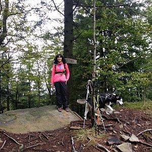 Maja na vrcholu Burkův vrch (4.10.2020 15:47)