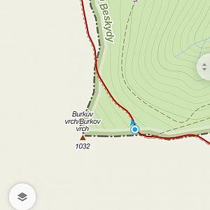 Justveronica na vrcholu Burkův vrch (20.2.2021 15:08)