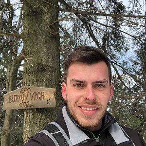 Pospa na vrcholu Burkův vrch (23.2.2019 11:59)