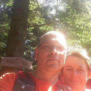 BUKY a IRČA na vrcholu Burkův vrch (15.6.2019 9:45)