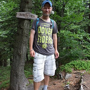 David Dudzik na vrcholu Burkův vrch (16.6.2019 13:55)