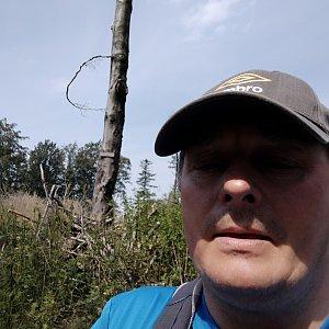 Roman Grebenar na vrcholu Kyčera (24.7.2020 11:22)