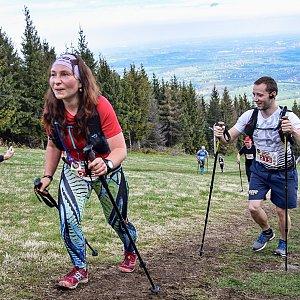Léňa Manová na vrcholu Malý Príslop (4.5.2019)