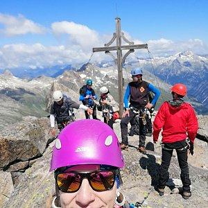 AndKapka na vrcholu III. Hornspitze (Berliner) (4.8.2019 12:52)