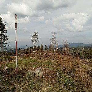 Anna na vrcholu Bleskovec (30.4.2020 16:12)