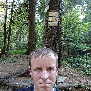 Lukáš Žídek na vrcholu Frňovské (5.9.2019 10:54)