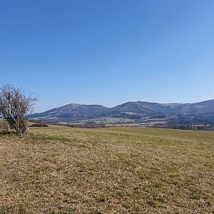 Petr Pepe Peloušek na vrcholu Na Vrchu (17.3.2020 12:14)