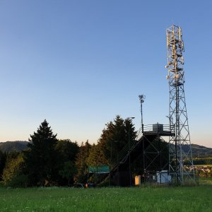Petr Pepe Peloušek na vrcholu Tábor (10.7.2021 20:07)