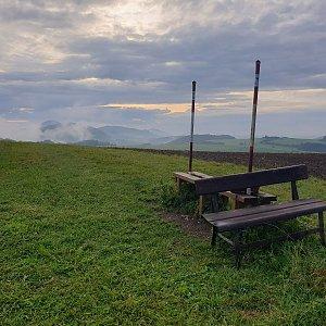 Petr Pepe Peloušek na vrcholu Tábor (29.8.2021 18:31)