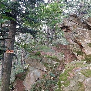 ZdenkaV na vrcholu Skalka (26.9.2021 18:10)