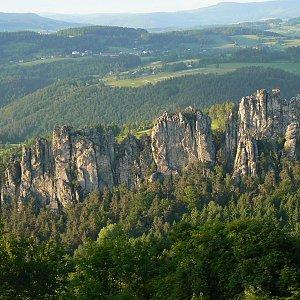 Jarda Vála na vrcholu Sokol (4.6.2010)