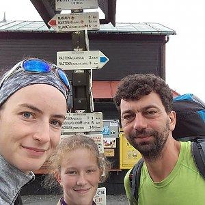Babunka159 na vrcholu Pustevny (18.6.2018 15:45)