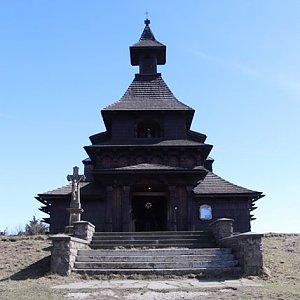 Veronika Durajová na vrcholu Pustevny (18.4.2020 15:05)
