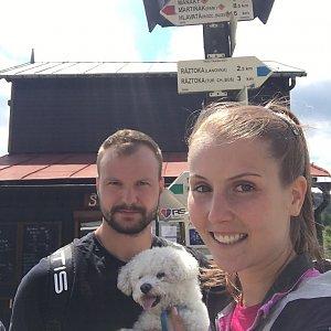 Natálie Cváčková na vrcholu Pustevny (12.7.2018 13:01)
