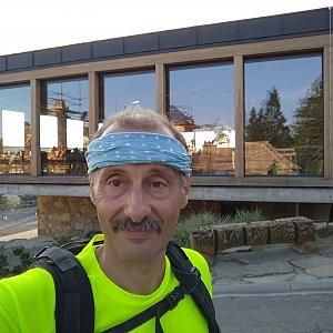 Jiří Sumbal na vrcholu Pustevny (18.8.2018 18:36)