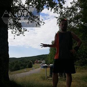 Jan Zamarski na vrcholu Pustevny (11.7.2021 9:36)