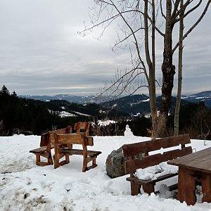 Iva Purmenská na vrcholu Bukovina (1.3.2020 12:00)