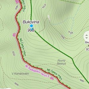 Jiří Tomaštík na vrcholu Bukovina (17.7.2021 6:03)