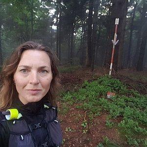 Marcela Kubíčková na vrcholu Bukovina (27.8.2021 19:14)